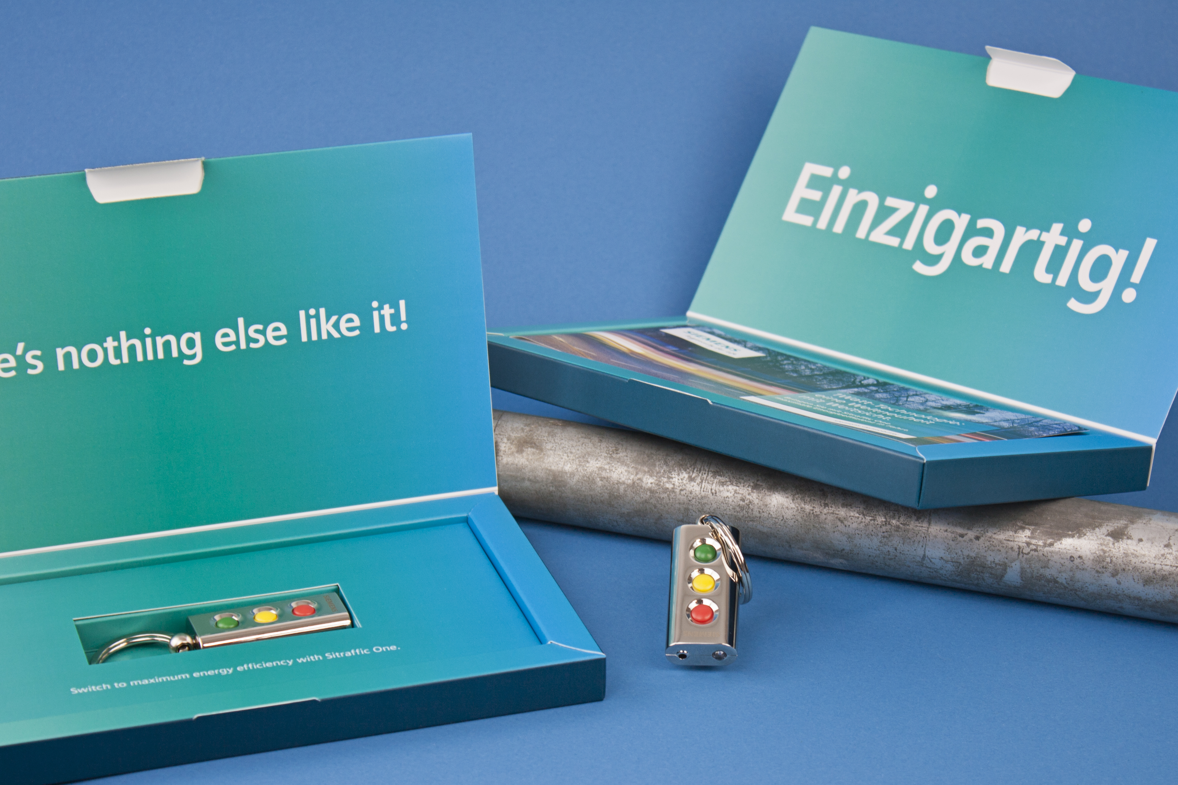 Referenz Siemens Mailing Sitraffic One, Packaging