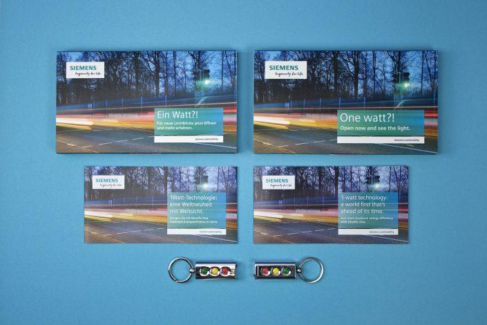 Referenz Siemens Mailing Sitraffic One, Ansicht aller Bestandteile