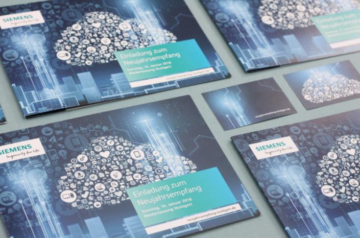 Einladung zum Neujahrsempfang der Siemens AG