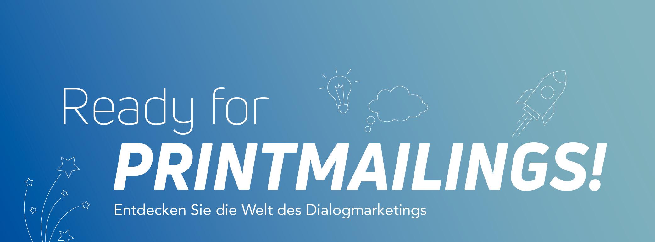 Printmailings zeigt die Welt des Dialogmarketings