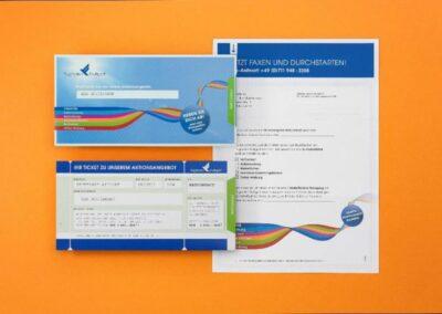 Stuttgart Airport: Mailingsystem Werbeflächen