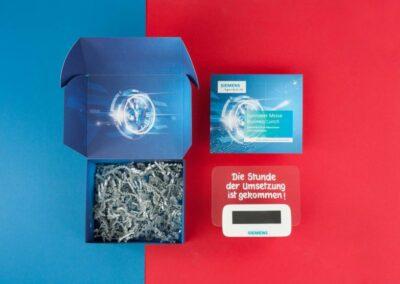 Siemens AG: Einladungsmailing HMI Business Lunch