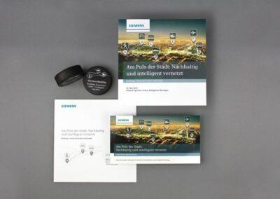 Siemens AG: Einladungskonzept Mobility Forum